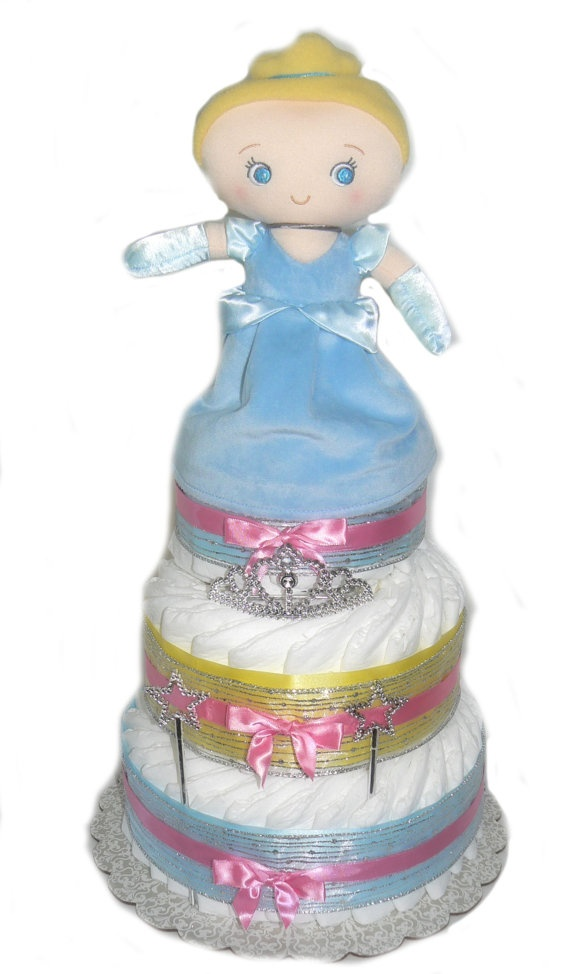 on pinterest diaper castle cinderella baby shower and diaper cakes