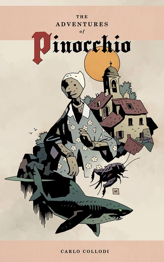 Pinocchio by Mike Mignola