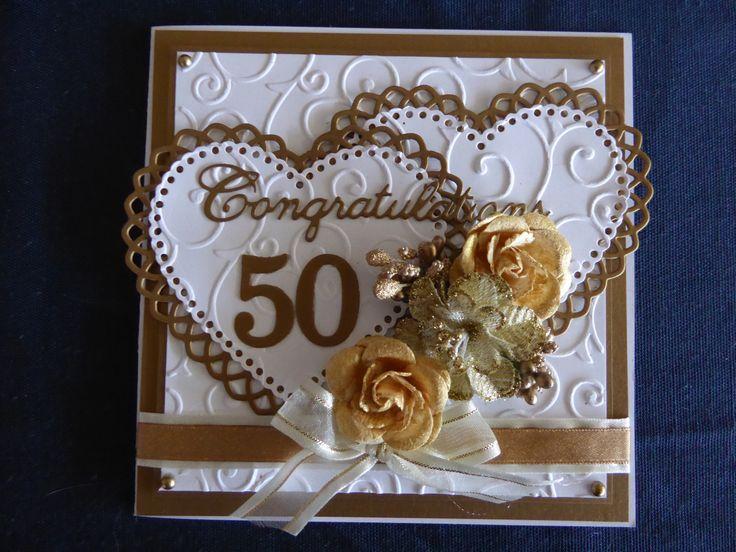 50th Anniversary Card - Scrapbook.com