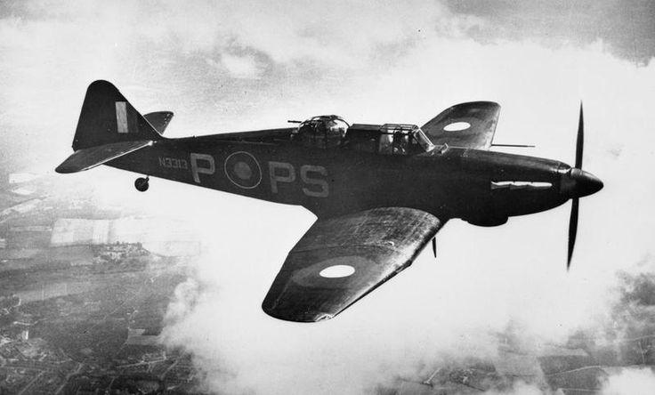 AIRCRAFT OF THE ROYAL AIR FORCE, 1939-1945: BOULTON PAUL P.82 DEFIANT.