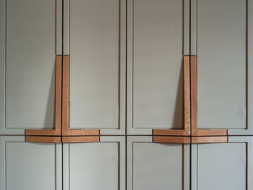 Wood Cabinet Pulls Designed By Nyc Based Firm Workstead, And Cabinets  Painted