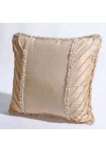 """Cushion Cover 16"""" X16 """" Mineral Yellow"""
