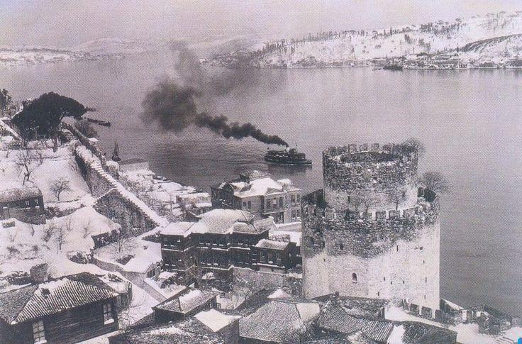 1929 kışı Rumelihisarı