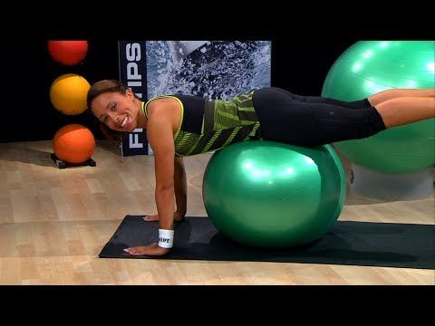6 Stability Ball Workouts For Every Part Of Your Body