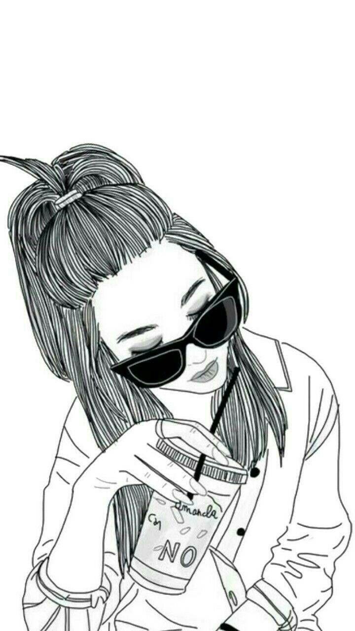 Крутые черно белые рисунки для срисовки, двадцать пять