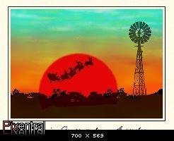 An Australian Christmas card - Elements Village
