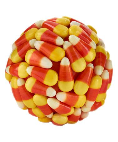 Love this Candy Corn Ball on #zulily! #zulilyfinds | See more about Candy Corn.