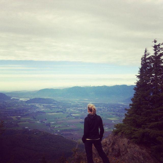 Photo of the day! Vanessarose #hiking in Chilliwack, British Columbia. #yonderoftheday #activewomen
