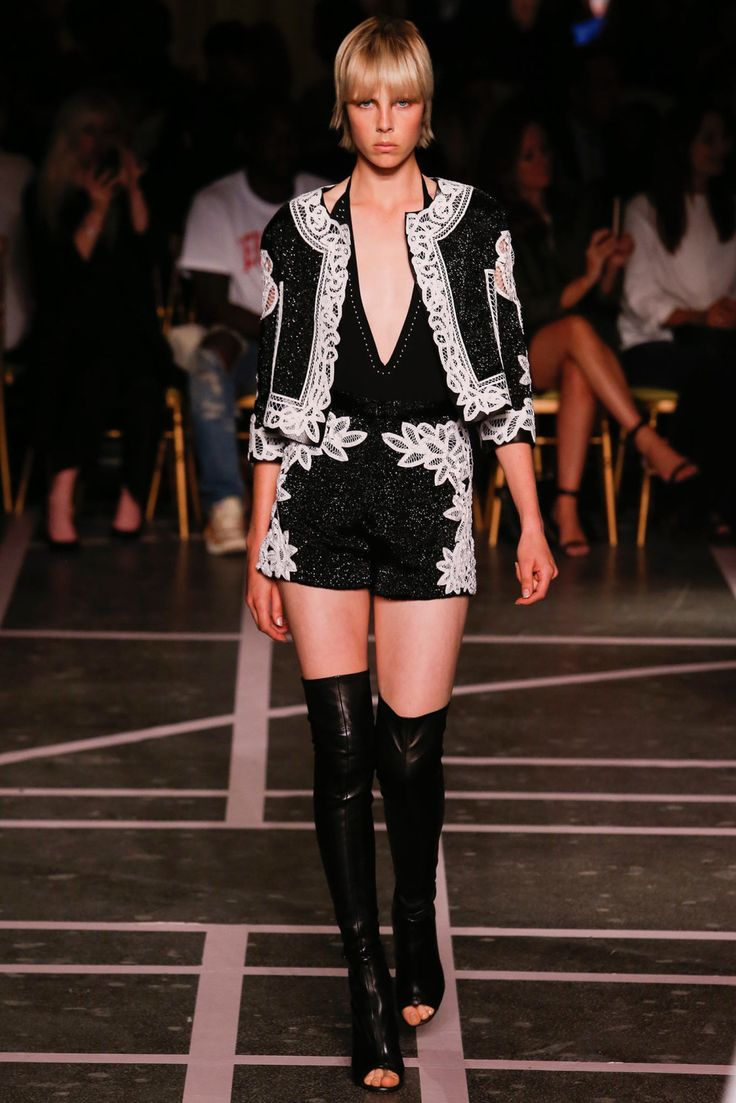 Givenchy Spring/Summer 2015 — Edgy yet Romantic - Lola Who