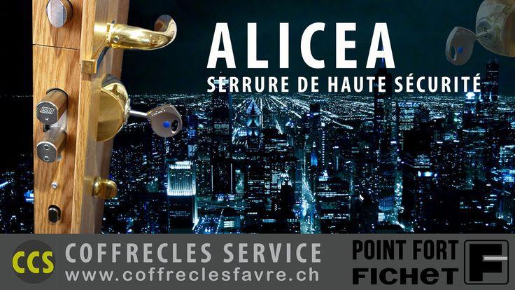 Serrures multipoints Alicea Fichet