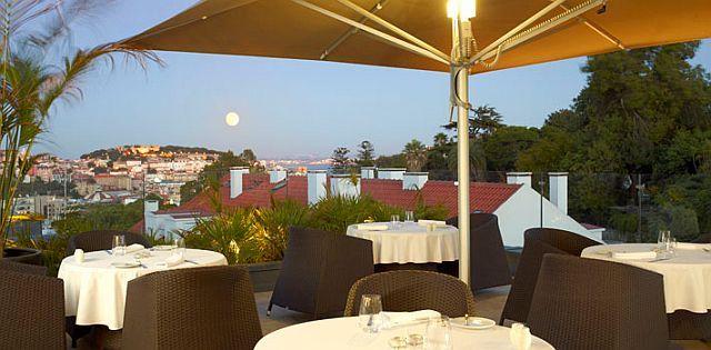 Bar Panorâmico Varanda no Castelo do CS Hotel Vintage Lisboa, com vistas únicas sobre a cidade das Sete Colinas | Lisboa | Portugal | Escapadelas ®