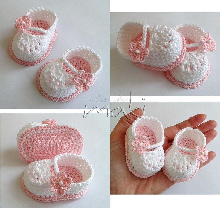 (4) Name: 'Crocheting : FREE crochet pattern Mini booties