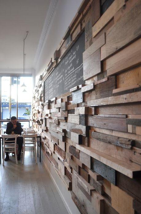 Meer dan 1000 idee n over hout functie muren op pinterest accentmuren twee tweepersoonsbedden - Muur niche ...