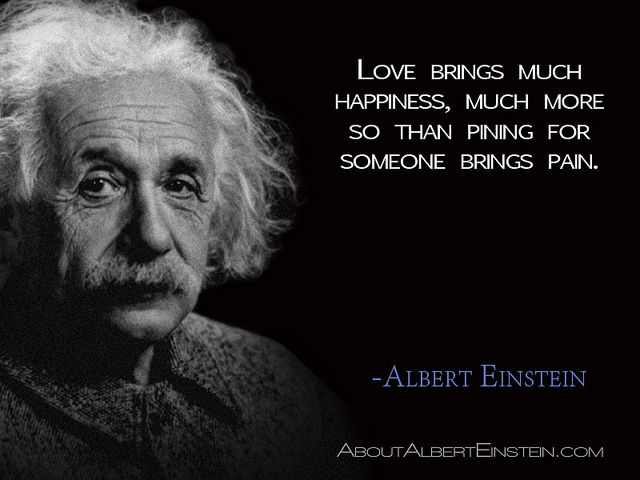 Gallery For Albert Einstein Love Quotes