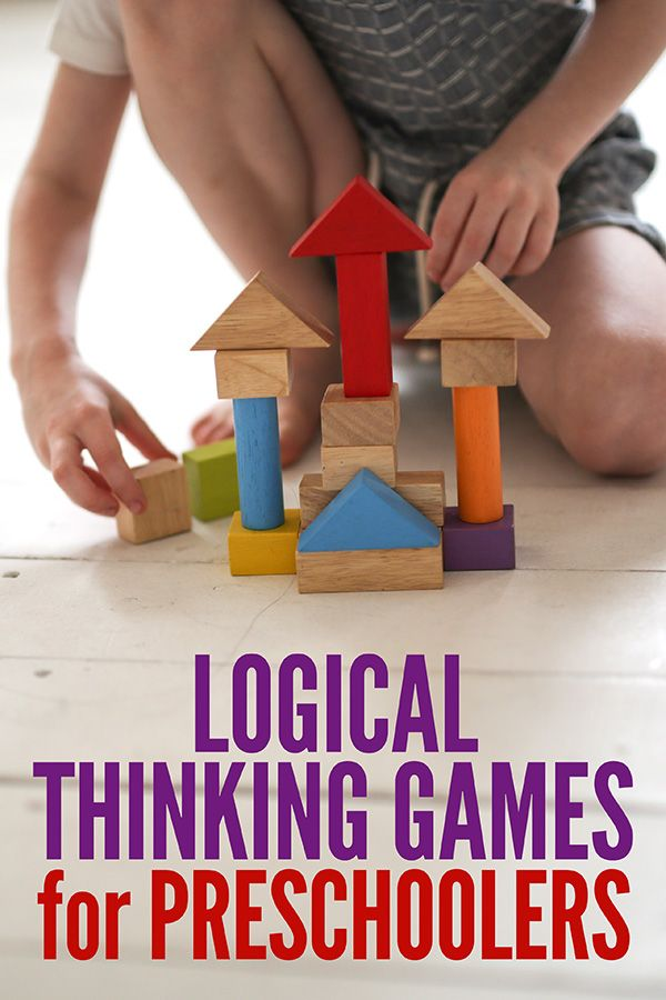 Get Them Thinking! 5 Logical Thinking Games for Preschool & Kindergarten