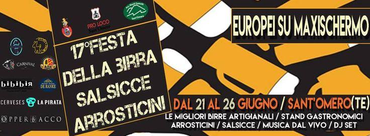 FESTA DELLA BIRRA SALSICCE e ARROSTICINI  SantOmero http://ift.tt/1XyxTqS