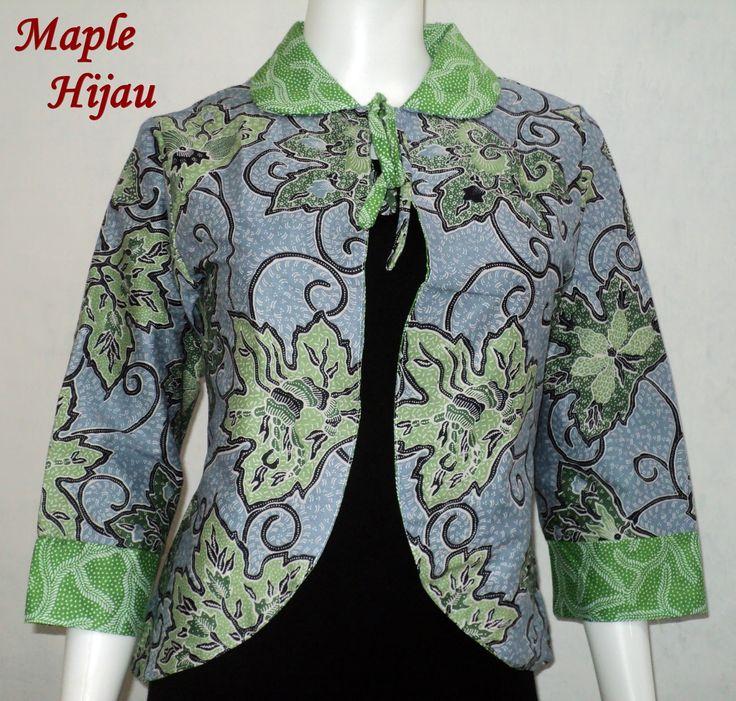 Banyak koleksi Blazer batik Cantik dengan pilihan warna dan motif yang menarik. Kontak kami : Fan Page FB : Inami Tustho Rini (LIKE & Cek Album) CS1 : 0857 2984 4382 (BBM : 289F7C5A) Ready Stock!!! Kode : BB Maple Bahan : Katun (halus dan tidak panas) Warna : Pink, Ungu, Biru, dan Hijau Size : All Size fit lingkar dada 85 - 100cm Blazer Batik Bolak Balik cocok dikenakan untuk acara formal (kantor) atau santai dengan aneka corak warna dan motif.