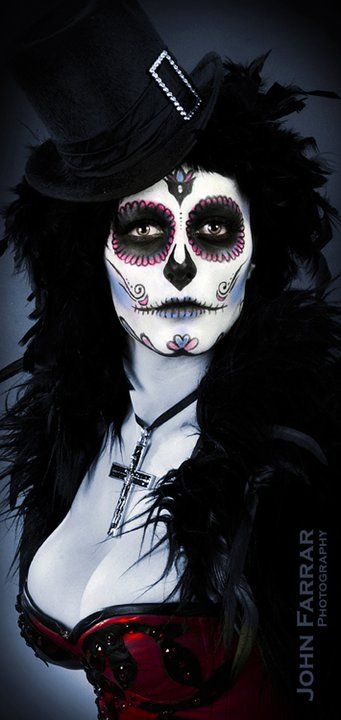 I love this costume!! Hmmmm... may go with this one!  Dia De Los Muertos