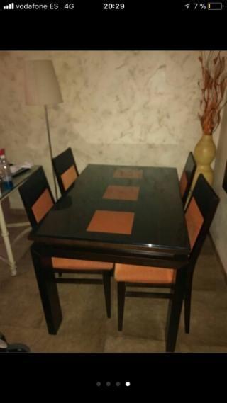 Mesa comedor y 4 sillas | mesa | Pinterest | Mudanzas, Comedores y ...