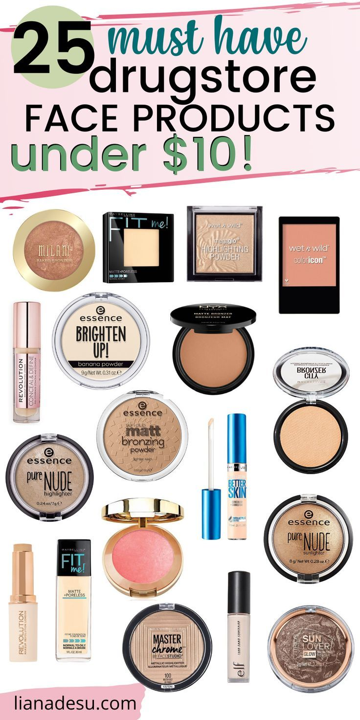 MustHave Drugstore Makeup Face Products Under 10 liana