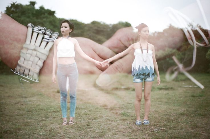 Super Cool Double-Exposure Photography