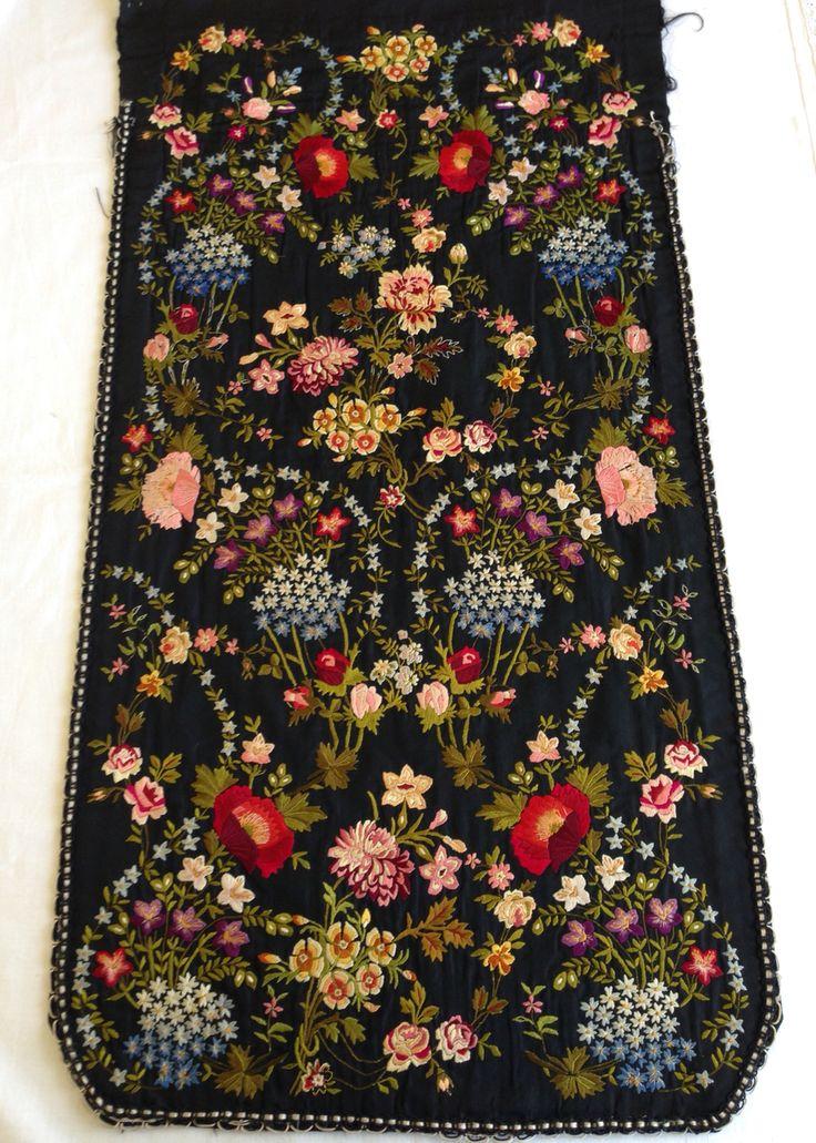 Item from traditional costume - Romania, Banat region!  Visit us on our Facebook page:  Colectia etnografica Marius Matei