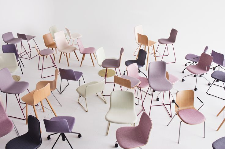 The Sola chair family designed by Antti Kotilainen includes several chairs and stool versions with various base options. The variety of choices makes it easy to find a suitable solution for various purposes and environments.