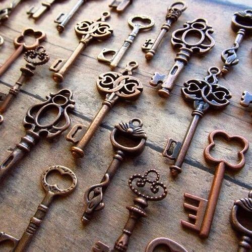 Las 25 mejores ideas sobre llaves antiguas en pinterest y - Llaves antiguas de puertas ...