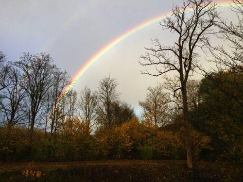 Regenbogen in Unsleben