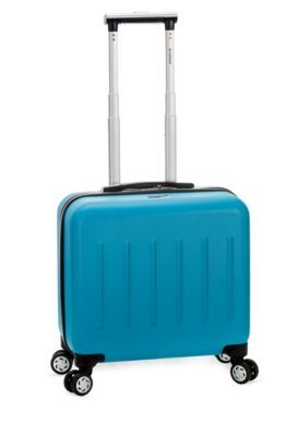 Rockland Turquoise Pelican Hill Rolling Laptop Case