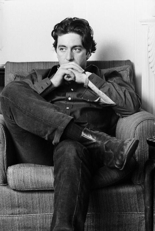 Al Pacino... www.fashion.net