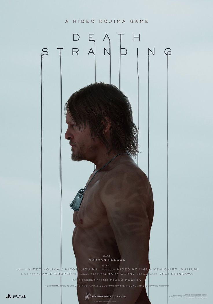 A Hideo Kojima Game 'Death Stranding' Im genuinely interested on this game mainly because its a Hideo Kojima Game and the walking dead character on it