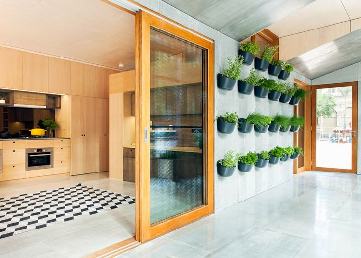 """Prototype for a carbon-positive house, featuring """"edible garden walls"""""""