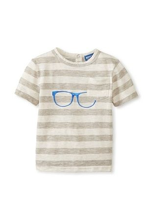38% OFF Andy & Evan Boy's The 20/20 Tee with Glasses (Blue)