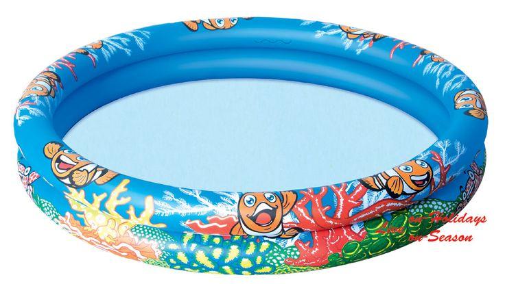 Μήπως το παιδί σας προτιμάει να παίζει με το νερό παρά με την άμμο της θάλασσας; Γεμίστε του μία μικρή πισίνα με θαλασσινό νερό! Και εκείνο θα παίζει ξέγνοιαστο και εσείς θα είστε ήσυχοι για την ασφάλειά του στην παραλία! https://www.on-holidays.gr/view_cat.php?cat_id=319