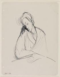 Ilka Gedo, 'Self-Portrait', 1944