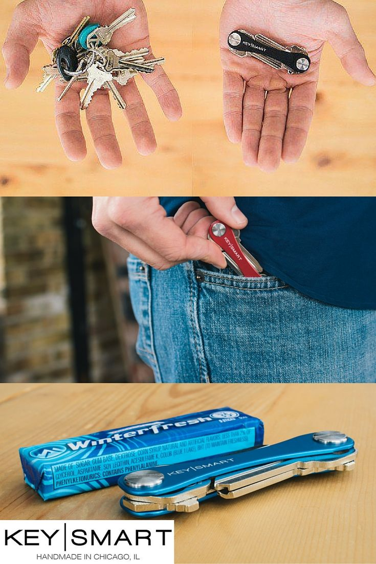 Check out this new Life Hack that turns your bulky key ring into a sleek gadget that is as skinny as a pack of gum! Its called the Key Smart and can be extended to hold up to 100 keys and other accessories like a USB drive, bottle opener, a golf divot tool, and more! Use discount code FALL15 by November 30, 2015 for a 15% discount on everything in their store.