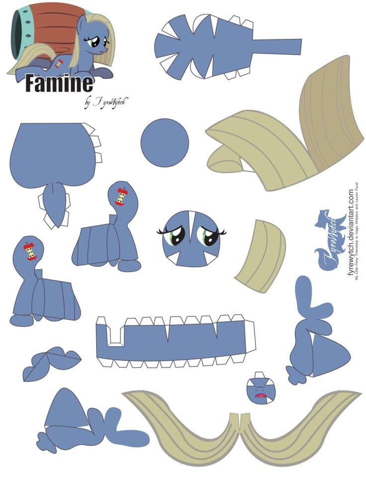Famine Papercraft by FyreWytch on deviantART