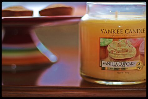 Vanilla Cupcake - per entrare nel mood torta! Yankee Candle senza spese di spedizione con 30 euro di spesa su www.bottegaregalasorrisi.com