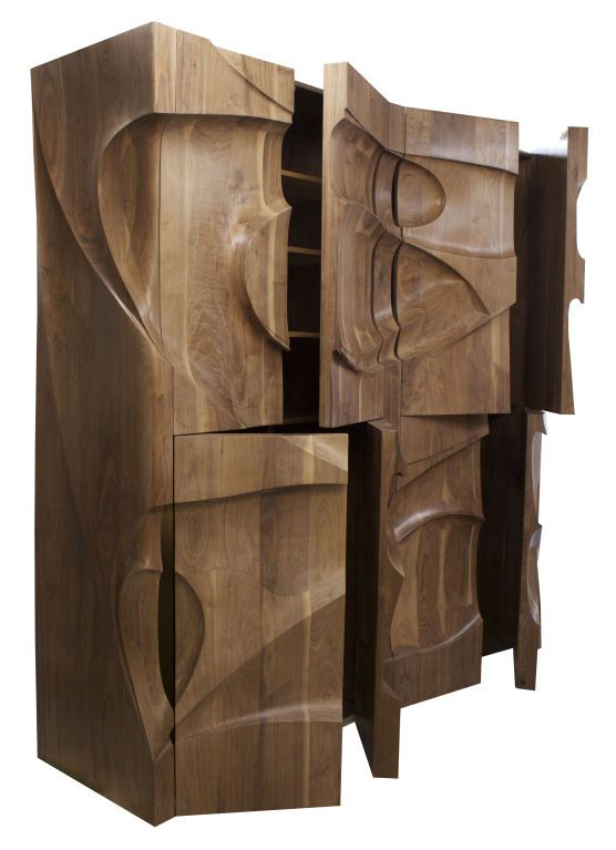 """Galaxy II"" Standing Cabinet by Michael Coffey"