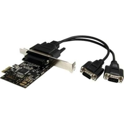 Selected 2 Port RS232 PCI-E Serial Card By Startech.com by Product At Startech.com. $53.04. At Startech.com they are committed to provide the consumer with the highest and best quality when it comes to products like this Exclusive 2 Port RS232 PCI-E Serial CardThe PEX2S553B 2-Port PCI Express Serial Card w/ Breakout Cable lets you add two RS232 serial ports using a single PCIe expansion slot. With the included break-out cable, you can easily add two ports to a single lo...