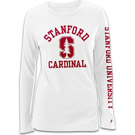 13 best vintage college apparel images on pinterest for Stanford long sleeve t shirt