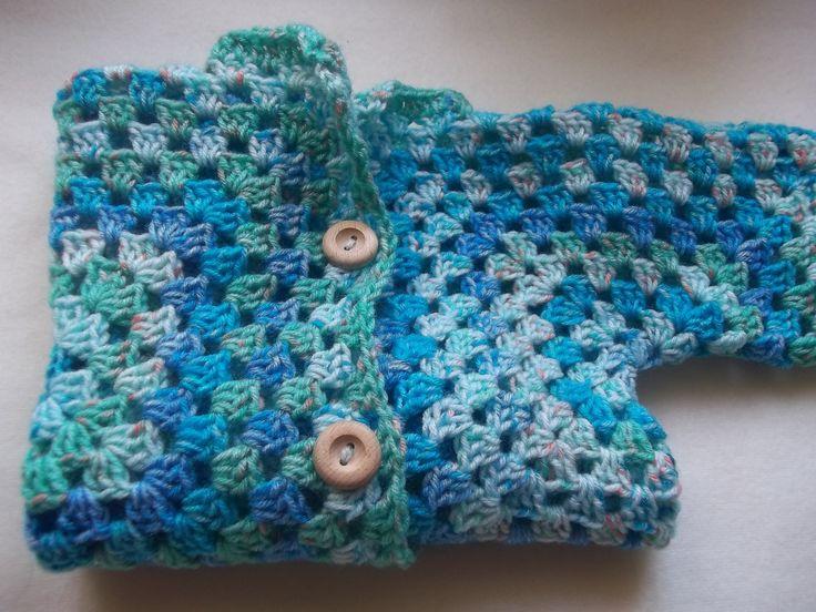 Crochet Baby hexagon sweater (Ruby Stedman)