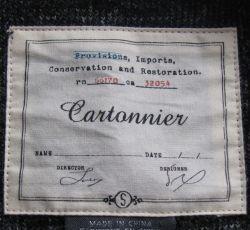 Cartonnier  Label 1