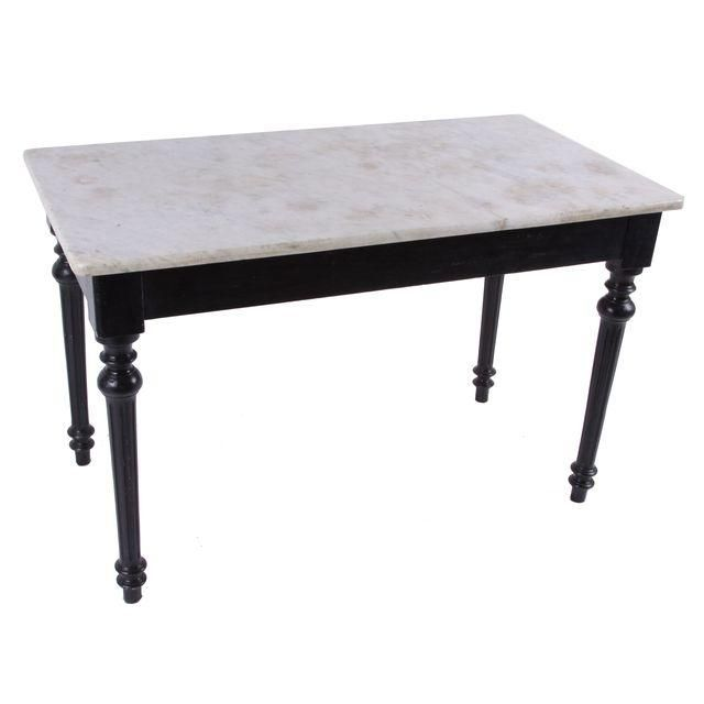 Image of 19th Century French Marble Top Table