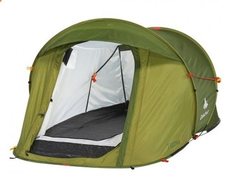 Quechua 2 Seconds tent Green is very quick and easy to pitch and fold down. Ideal for Outdoor camping. Buy - http://bit.ly/2aPOBky