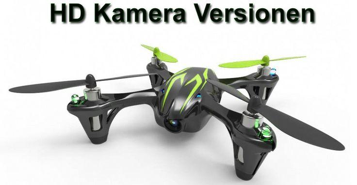Hubsan X4 med HD kamera Sort/Grøn