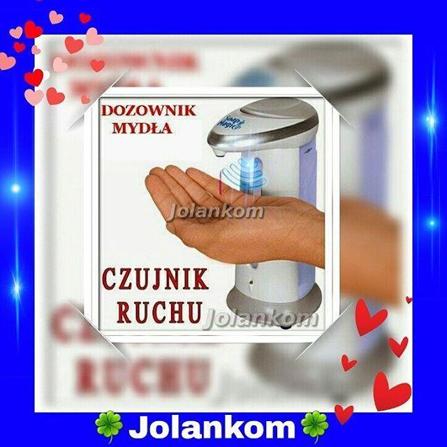 Dozownik mydła automatyczny na podczerwień pięknie się prezentuje w każdej łazience czy kuchni 🔔👍 Jest bardzo praktyczny👌 Zapraszamy do sklepu Prodekol www.prodekol.sklepna5.pl🔔 #dozownik #automatyczny #podczerwień #mydło #promocja #rabaty #wysyłka...