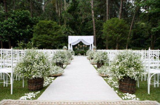 Nova ideia casamenteira: Casamento no Campo |
