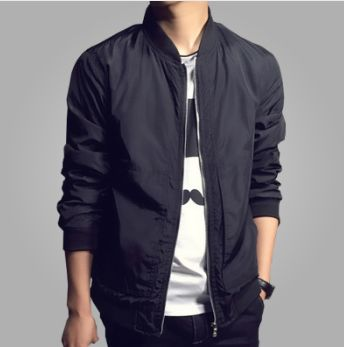 Item Type:Bomber Jacket Clothing Length:Regular Cuff Style:Rib Sleeve Closure Type:Zipper Hooded:No Collar:Korean Collar Decoration:Embroidery Sleeve Style:Regular Style:Casual Lining Material:Polyest